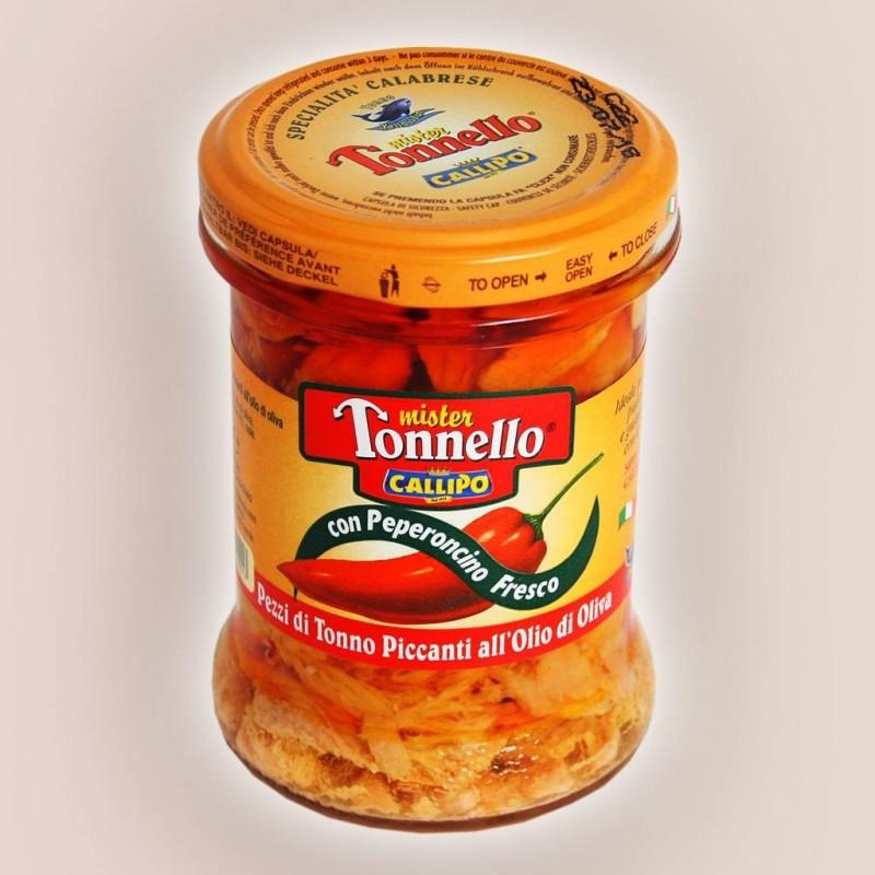Mister Tonnello con peperoncino fresco Callipo