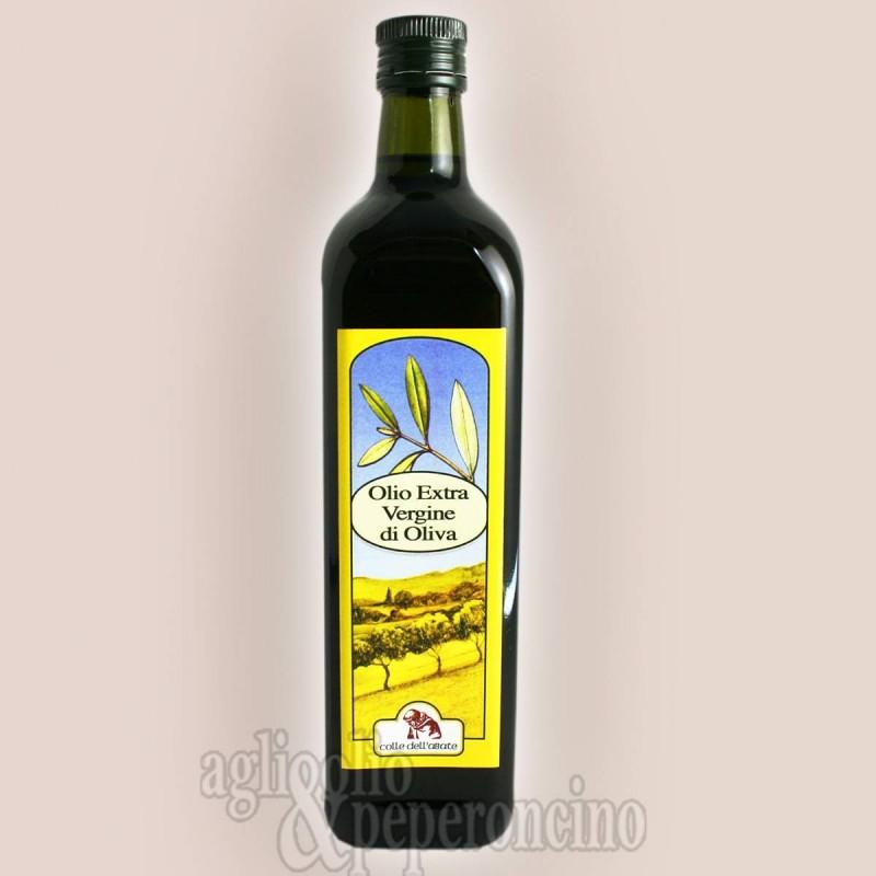 Olio extravergine d'oliva in bottiglia