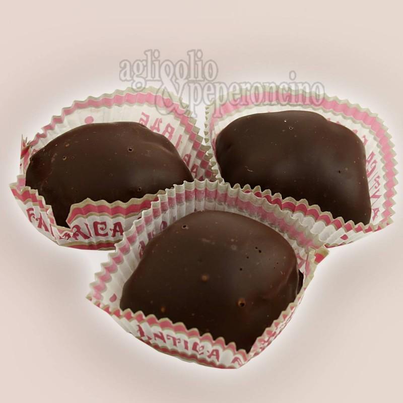 Mustaccioli - Biscotti ripieni ricoperti al cioccolato- Cardone dal 1846