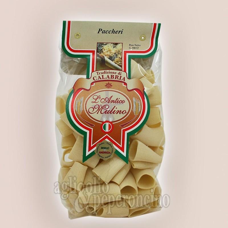Paccheri 500 grammi - Pasta artigianale calabrese