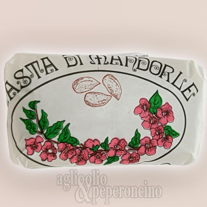 Pasta di mandorle per latte di mandorla alla siciliana 250 grammi