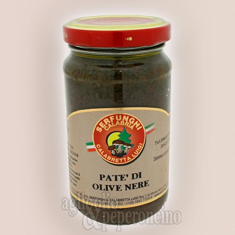 Patè di olive nere all'olio d'oliva - Prodotti tipici calabresi