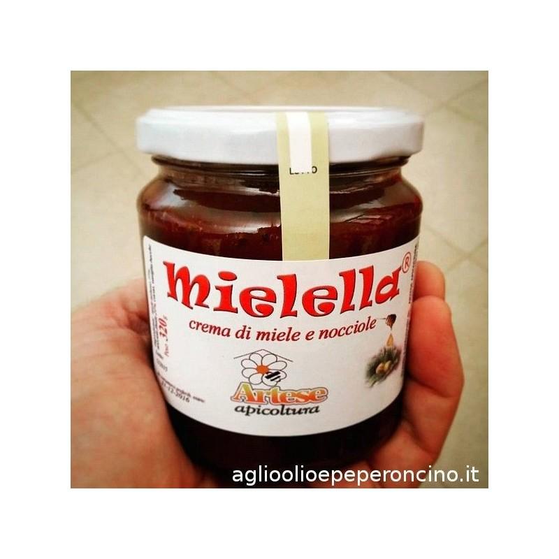 Mielella - Crema spalmabile a base di miele e nocciole