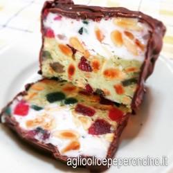 Torrone gelato - Dolce tipico Natalizio della prov. di Reggio Calabria -Cardone 1846