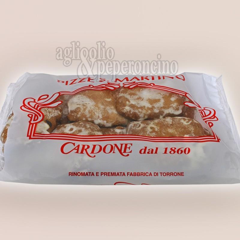 Pitte di San Martino tradizionali calabresi - Glassate bianche