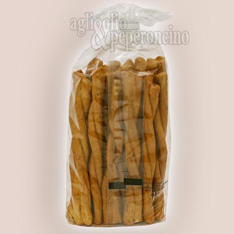 Treccine patate e rosmarino - Prodotti da forno calabresi