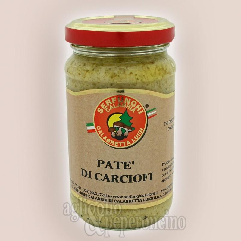 Patè di carciofi in vasetto da 212 ml - Prodotti tipici calabresi