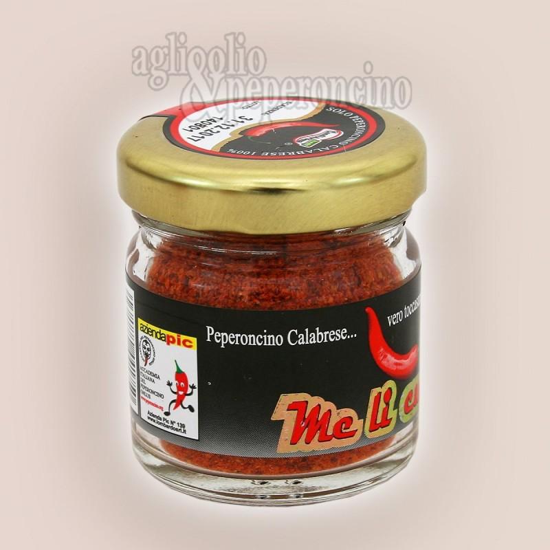 Peperoncino piccante in polvere 15 gr. - 100% calabrese