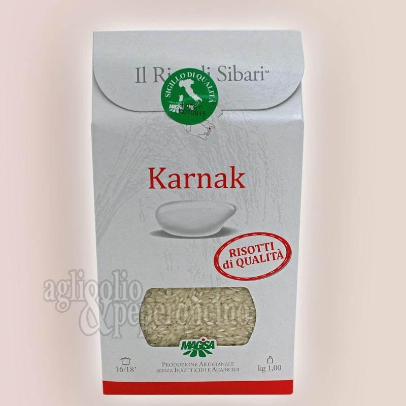 Riso Karnak di Sibari Magisa - Coltivato e lavorato in Calabria in terreni di natura salmastra