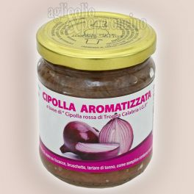 Cipolla Rossa di Tropea Calabria IGP - Cipolla aromatizzata calabrese