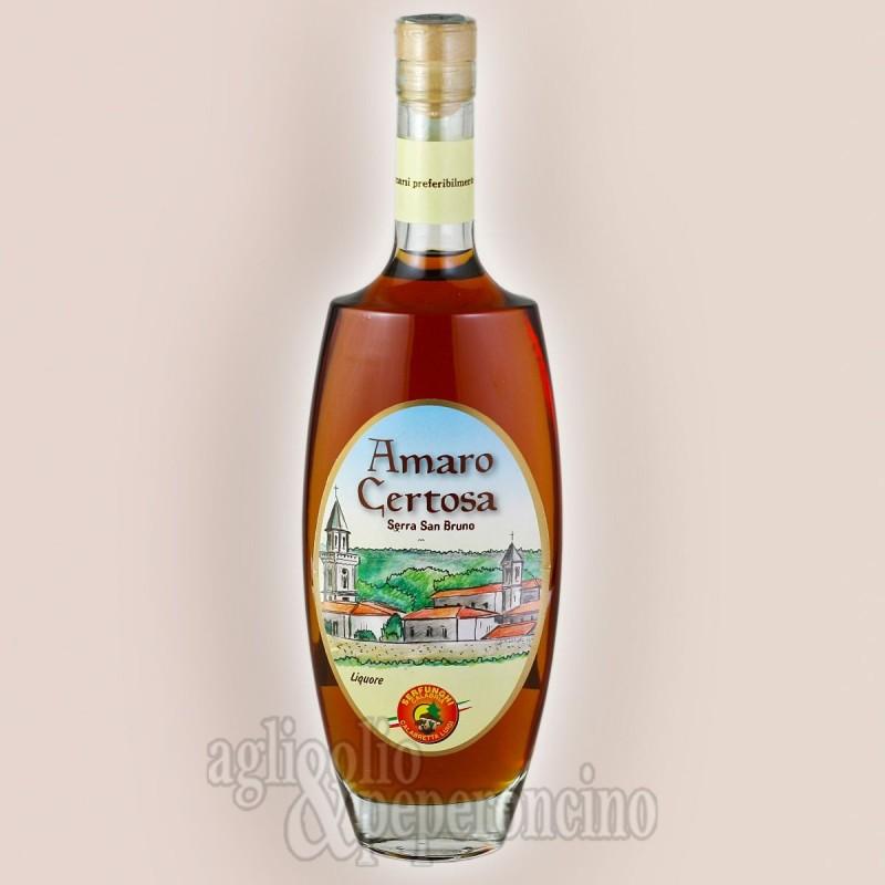Amaro Certosa 50 cl - il liquore delle Serre Calabre