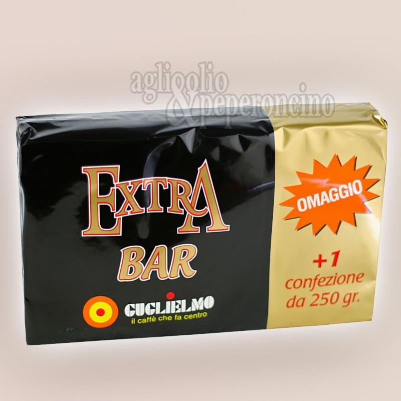 Caffè Guglielmo Extra Bar Tripack - 3x250 grammi