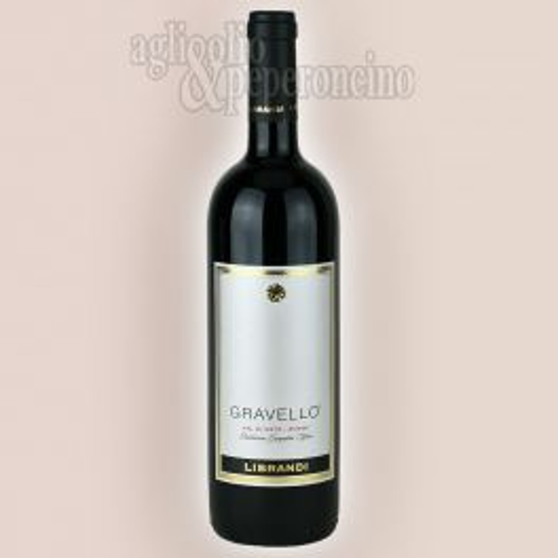 Vino Librandi Gravello in bottiglia da 75 cl - Val di Neto Rosso IGT