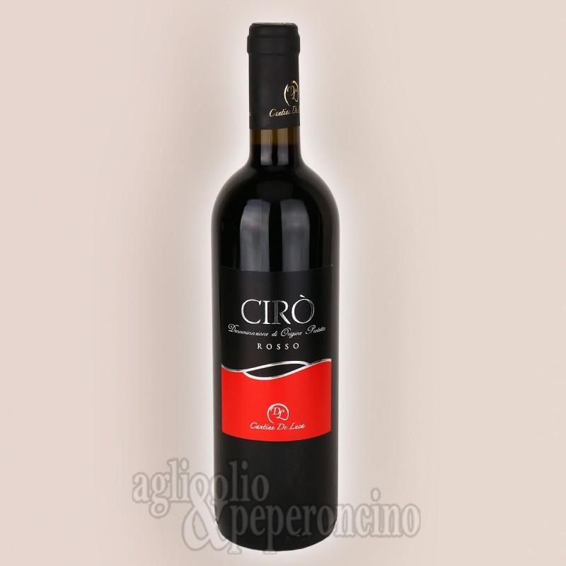 Vino Cirò Rosso DOP in bottiglia da 75 cl - De Luca