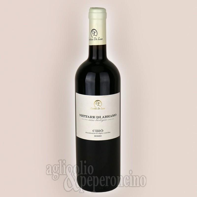 Nettare di Abramo 75 ml - Vino Cirò Rosso Biologico DOP - De Luca