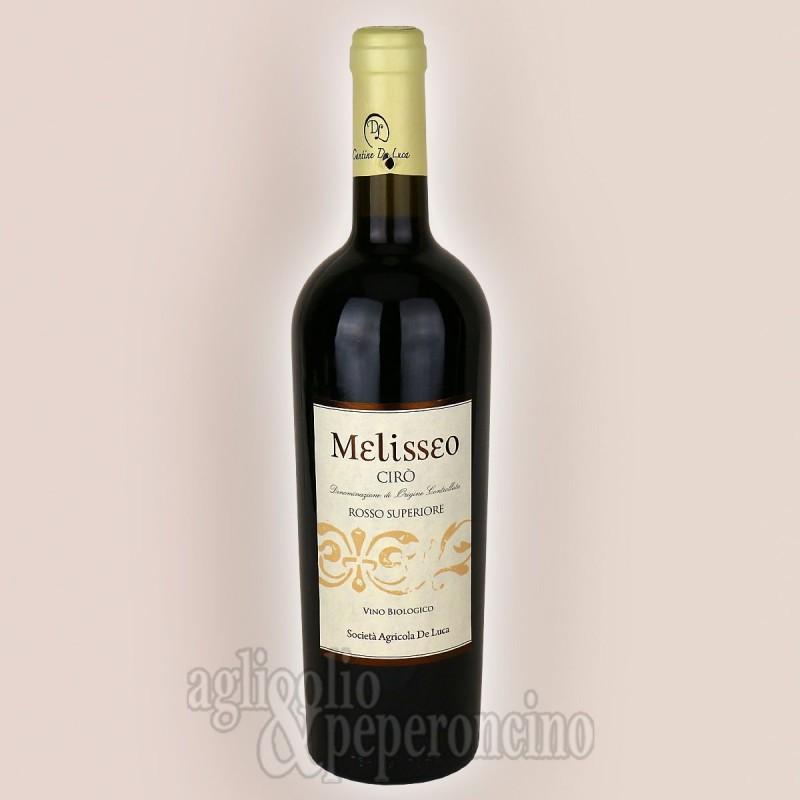 Melisseo Cirò DOC Rosso Superiore 750 ml - Vino biologico calabrese - Cantine De Luca