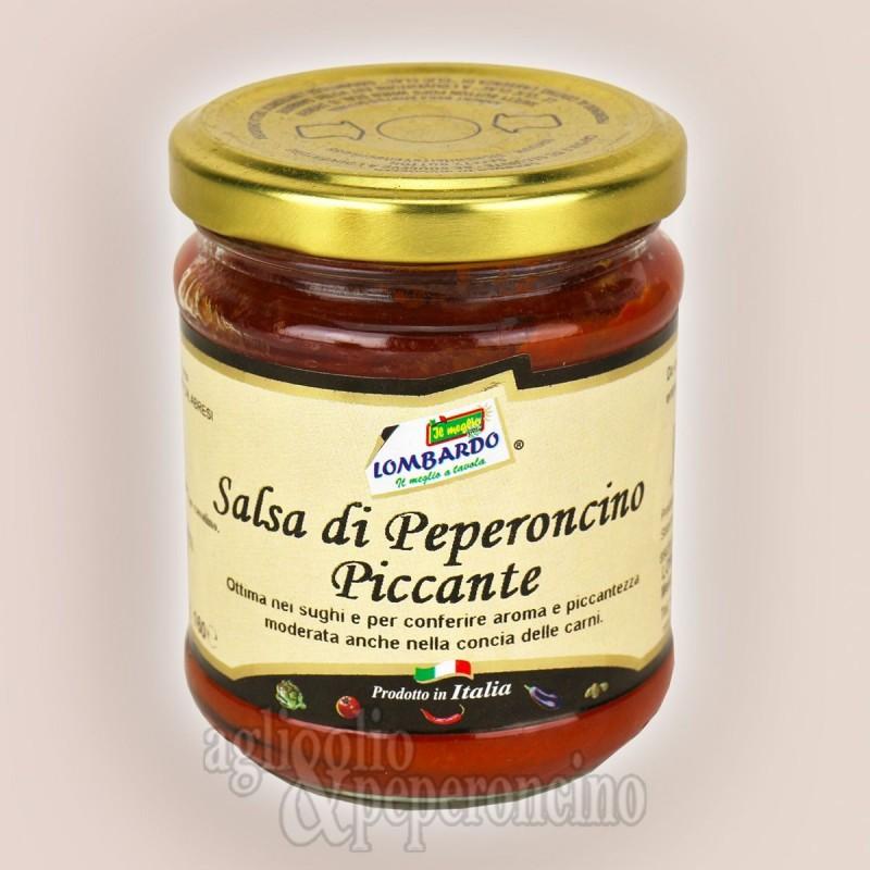 Salsa di peperoncino piccante per sughi e insaccati - Calabrese da filiera corta