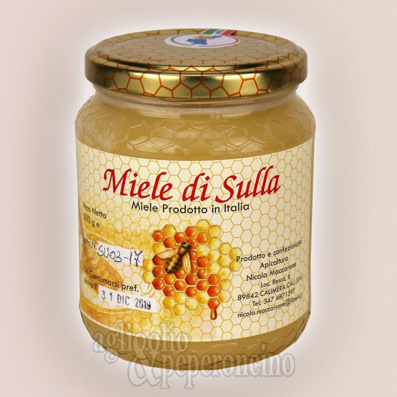 Miele di sulla calabrese da apicultori locali - Vasetto da 500 grammi