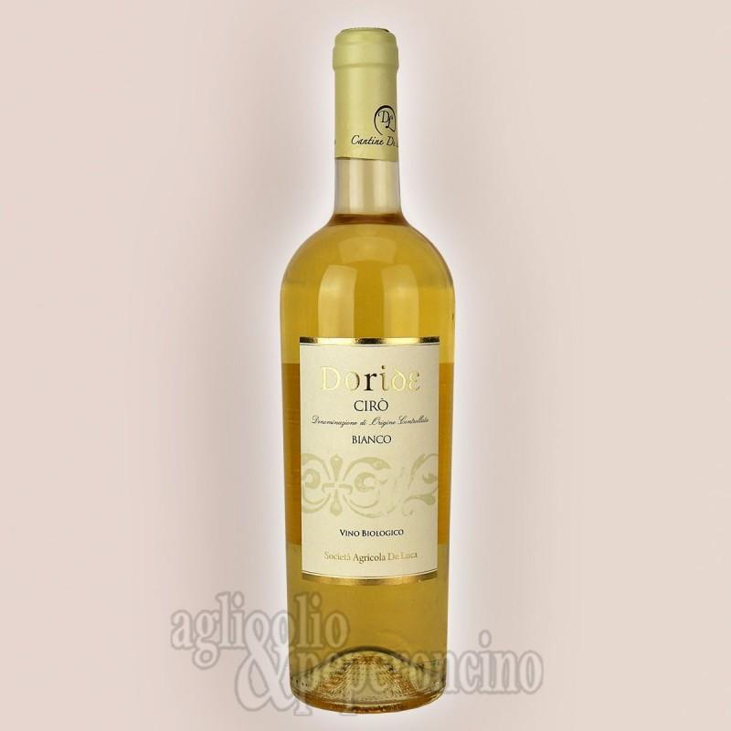 Doride Cirò Bianco DOC 750 ml - Vino biologico calabrese da uve Greco Bianco - Cantine De Luca