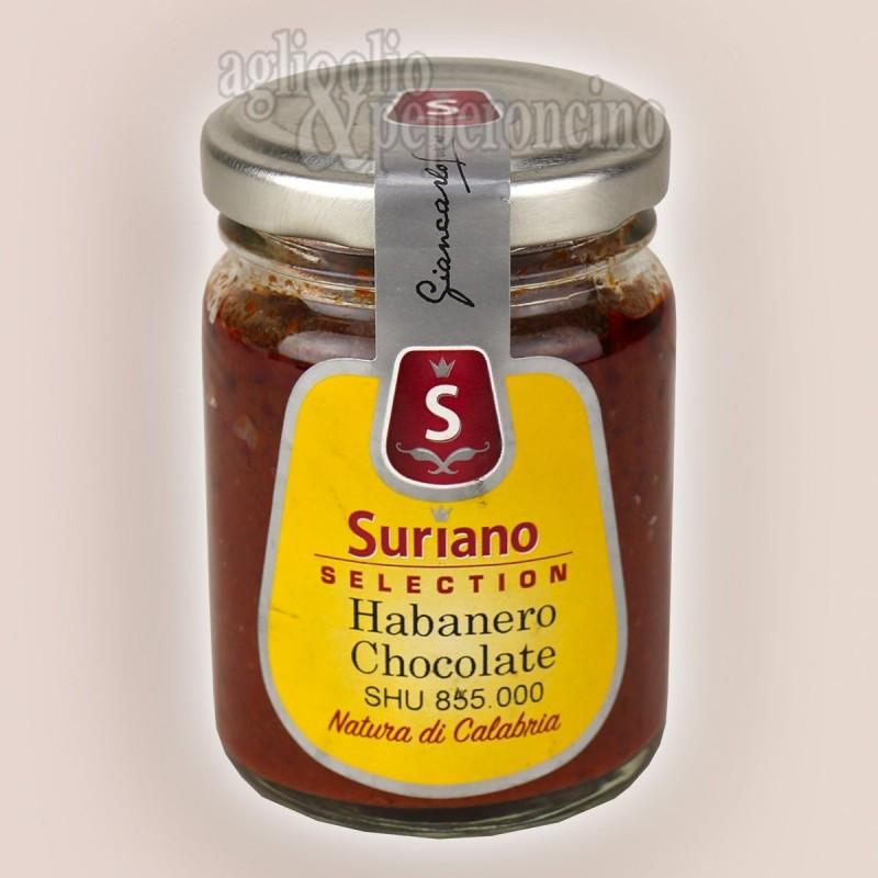 Crema di Habanero Chocolate - Peperoncino piccantissimo coltivato in calabria