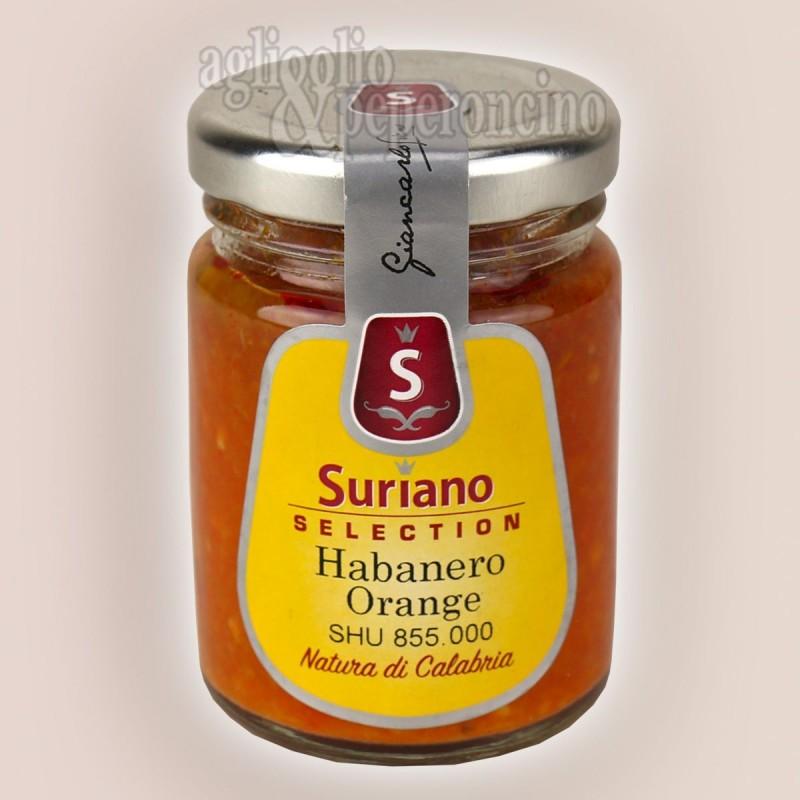 Crema di Habanero orange - Molto piccante - Peperoncino coltivato in Calabria