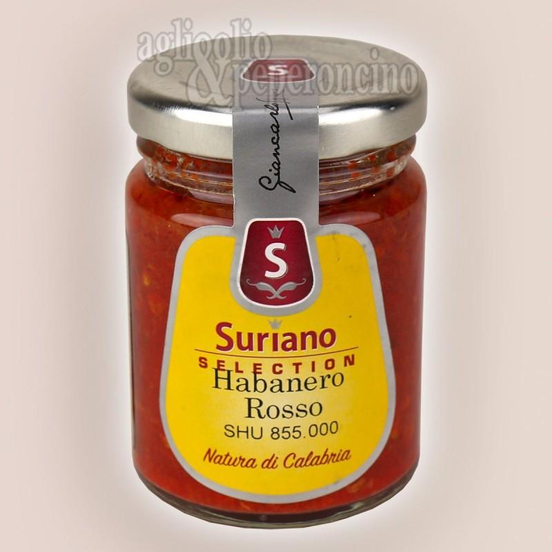 Crema di Habanero Rosso - Peperoncino piccantissimo coltivato in Calabria