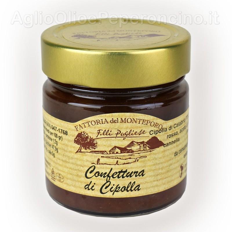 Confettura di cipolla - Vasetto da 270 grammi - Prodotta in Calabria