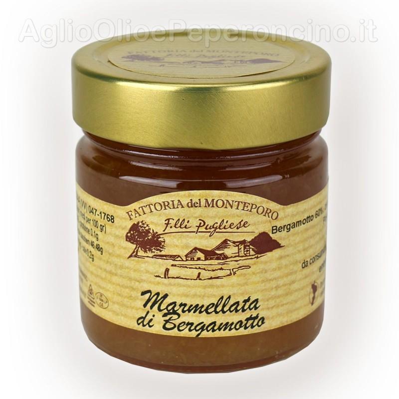 Marmellata di bergamotto prodotta in Calabria - Vasetto da 270 grammi