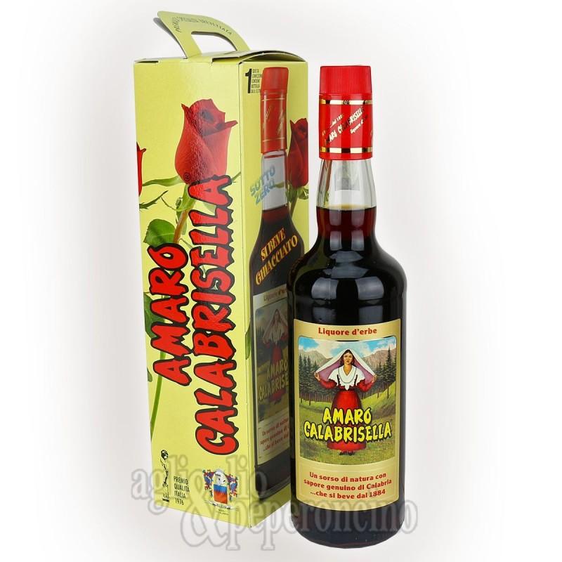 Amaro Calabrisella 70 cl - Liquore digestivo a base di erbe e radici di Calabria