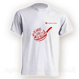 T-Shirt - In amore vince chi frigge - By Lo Statale Jonico