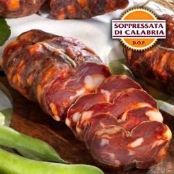 Soppressata di Calabria DOP piccante